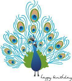 Simple peacock drawings - photo#19