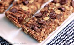 Banana Bread Bars: http://chocolatecoveredkatie.com/2014/09/18/sugar-free-granola-bars/