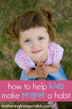 Life is hard. Our kids need to know they can call out to a loving heavenly Father who will always hear them. This post outlines several very practical ways that help kids make talking to God a natural and powerful part of everyday!