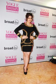 Zarine Khan at Vogue Awards 2013.