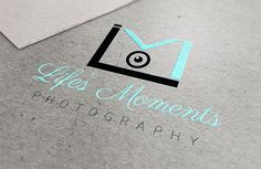 Life's Moments :: Photography Logo on Behance  via Phil Zubia