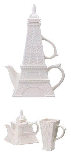Eiffel Tower tea set - need this please