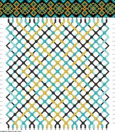 Muster # 75860, Streicher: 24 Zeilen: 24 Farben: 4