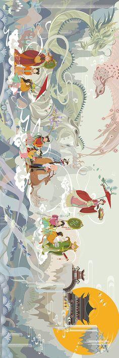 moondylak - 0 results for illustrations Art And Illustration, Illustrations And Posters, Character Illustration, Chinese Contemporary Art, Chinese Art, Modern Art, Fantasy Kunst, Fantasy Art, Japanese Art