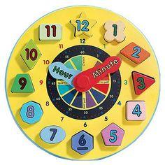 ideas para hacer un reloj didactico - Buscar con Google