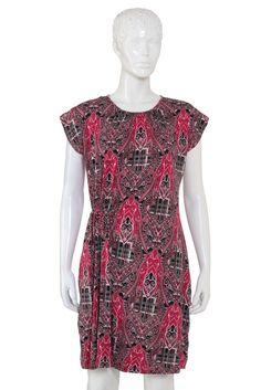 Women's Dress in Pink - s12fxwt008