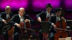 Giovanni Sollima: Violoncelles, vibrez! | Heitor Villa-Lobos: Preludio from Bachianas Brasileiras No.1 | Astor Piazzolla: Libertango – Truls Mørk, Jun Sasaki, Cellos from Gothenburg Symphony Orchestra (HD 1080p)