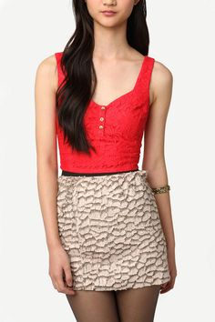 Lucca Couture Cropped Bustier Top $9.99