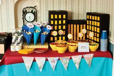 Legitimately cute superhero party table
