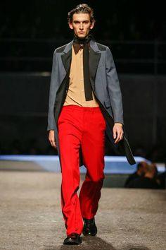 Thirteenth, and final, incarnation.  • 'New Serenade'  •••  Prada | Fall 2014 Menswear Collection | Style.com