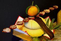 Japanese New Year Decoration - Kagamimochi
