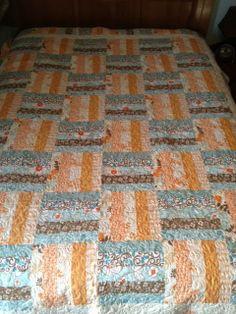 free jelly roll quilt patterns beginner | Atkinson Popsicle Sticks ... : popsicle sticks quilt pattern - Adamdwight.com