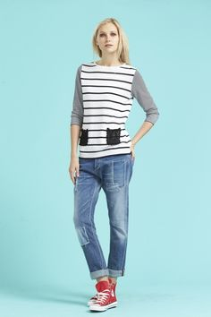 Women's Cuffed Jeans For Spring-Summer 2015 (5)