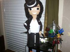 School Project for my son - Bio-Bottle of Michael Jackson