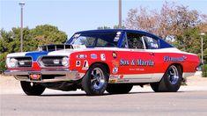 photos of sox & martin drag cars   LOT 5017, 1968 PLYMOUTH BARRACUDA RACE CAR. (Photo: Barrett-Jackson)