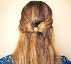Click Pic for 24 Easy DIY Wedding Hairstyles - Hair Bow   How to do Hair Styles for Long Hair   Short Hair