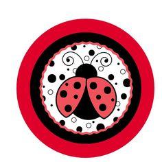 Table Decor Circle for Ladybug