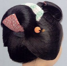 Ofuku hair style #maiko