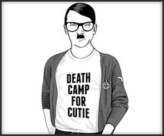 'Since when was Hitler cool?' Outrage after 'jokey' comic strip book called Hipster Hitler turns murderous Nazi dictator into trendy geek Funny Cartoons, Funny Memes, Hilarious, Best Funny Images, Funny Pictures, Funny Pics, Hitler Jokes, Gallows Humor, Comics