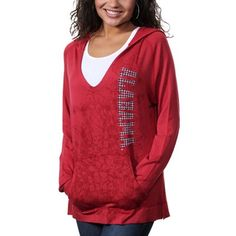 Alabama Crimson Tide Womens Cozy V-Neck Pullover Hoodie - Crimson- Gotta add this to my collection!