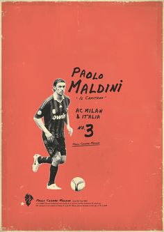Maldini: Zoran Lucić shows all its love for the round ball. Around graphic designs on the biggest players of the history of football, the Bosnian artist manages to emphasize these sportsmen of passed and the present.