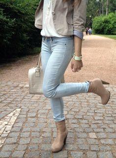 Andrea♡Wendy Jelenská - Tally Weijl Jeans, Carpisa Bag, Orsay Top, Avon Bracelet - Elegant   LOOKBOOK