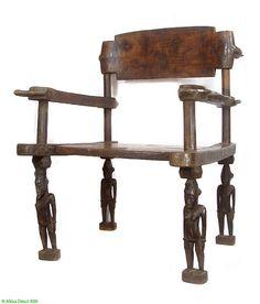 Senufo prestige chief's chair