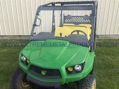 Extreme Metal Products Announces the John Deere Gator Hard Coated Polycarbonate Windshield