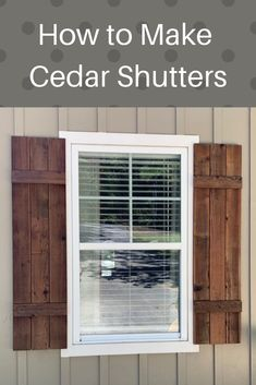Cottage Exterior Before And After - Exterior Stone And Siding - Exterior House Porch - Terrazas Exterior Arquitectura Green Shutters, Rustic Shutters, House Shutters, Diy Shutters, House Siding, Outside Shutters, Diy Exterior Cedar Shutters, Types Of Shutters, Café Exterior