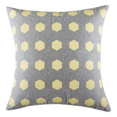 Hexy Cushion 50x50cm  Iced Lemon