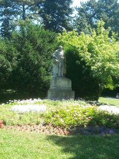 Vienna; Austria; 1180, Türkenschanzpark; Adalbert Stifter Denkmal
