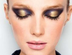 Unique spin on a smoky eye