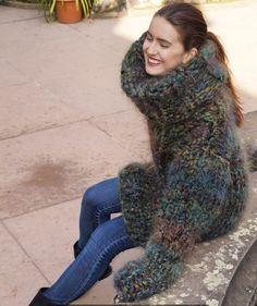 My favorite!! #creapulkasweaters #wool #mohair #turtleneck #sweater…