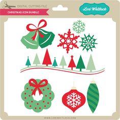 Christmas Icon Bundle - Lori Whitlock's SVG Shop