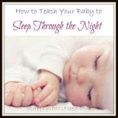 Highly effective technique to teach your baby how to sleep through the night. This program was a lifesaver for my family. I very strongly recommend it!