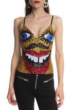 Image of BRIGHT EYES Bralet Singlet