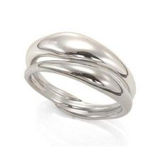 Silver Reflecting Ring, Ed Levin Jewelry, $210.