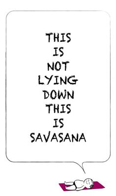 This is Savasana / Corpse Pose ;-) #yoga #yogapose