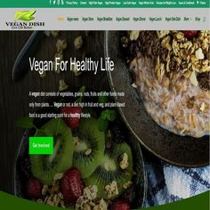 Vegan Food Store Wordpress Website /woocommerce/Ebay/amazon/aliexpress ready Vegan Dishes, Vegan Food, Vegan Recipes, Vegan Store, Vegan Shopping, Healthy Life, Side Dishes, Wordpress, Web Design