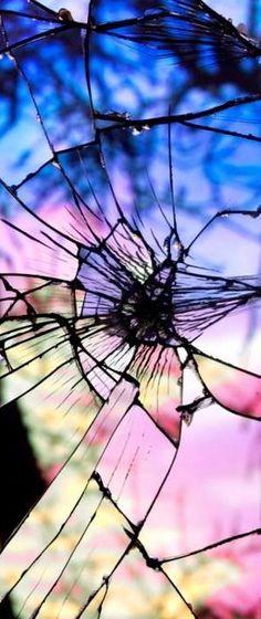 Bing Wright, Sunset in Broken Glass, 2009