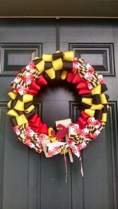 Maryland flag wreath