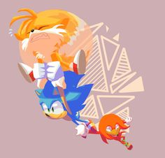 Cephilacrunch: I've been playing sonic heroes lately - Sonic The Hedgehog, Conan, Splat Tim, Play Sonic, Sonic Funny, Classic Sonic, Sonic Mania, Sonic Heroes, Sonic Fan Characters
