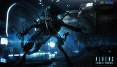 Aliens : Alien Queen by JJasso on deviantART