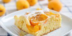 Gâteau minceur aux abricots