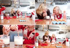 adorable baking styled shoot