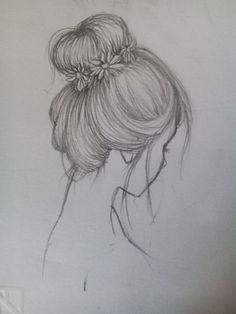 Fantasting Drawing Hairstyles For Characters Ideas. Amazing Drawing Hairstyles For Characters Ideas. Girl Drawing Sketches, Cool Art Drawings, Pencil Art Drawings, Easy Drawings, Drawing Drawing, Drawing Ideas, Pencil Drawing Tutorials, Pencil Drawing Inspiration, Portrait Sketches
