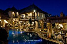 Modern estate in Montana