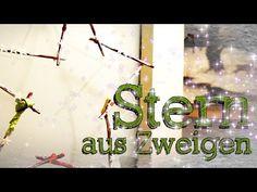 Shabby Stern | Ich mach jetzt... - Stern aus Zweigen - Basteln mit Naturmaterialien - Äste - Holz - Shabby Chic Deko selber machen