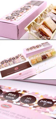 Agence de communication lyon : Vœux 2012 êtes vous un fin palais ? Biscuits Bouvard