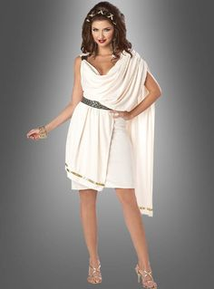 Sexy Toga Damenkostüm für Antike Mottoparty oder Karneval √ jetzt im Onlineshop Kostümpalast.de √ tel. Fachberatung √ sichere Zahlarten